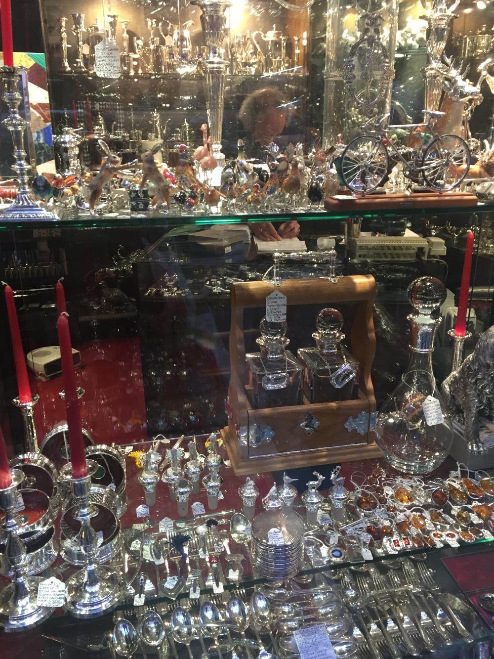 Simon Griffin antiques Royal Arcade London