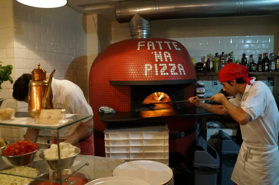 L'Antica Pizzeria restaurant, Hampstead London
